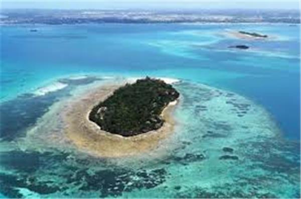 Zanzibar Island View.