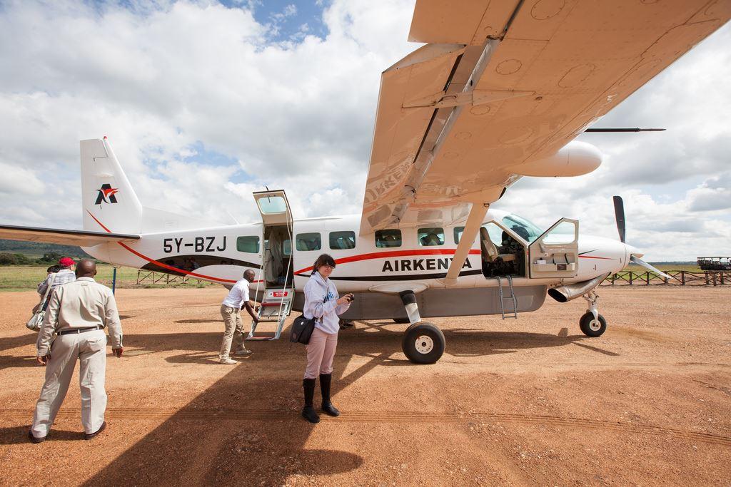 Flight to Serengeti.