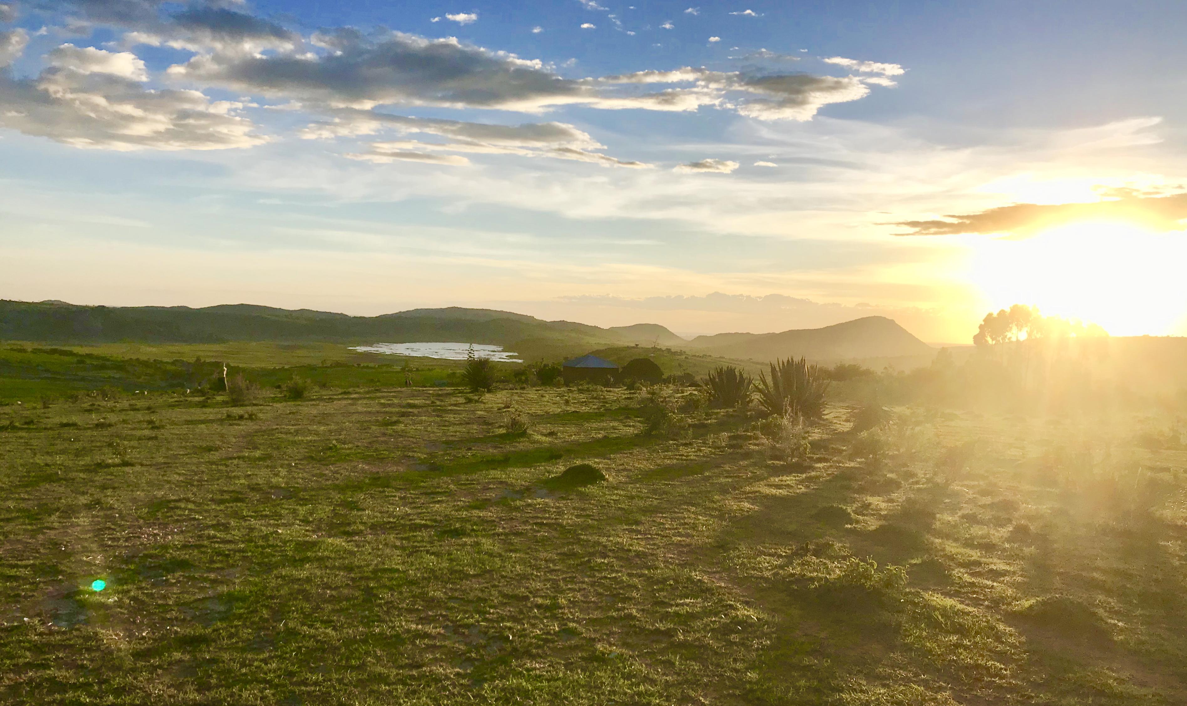 Sun Set, Mbulu, Tanzania, Africa, Camping, Explore